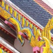 Stock Photo: Beautiful Thai-style roof.