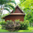 The traditional Thai house. — 图库照片