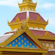 Stock Photo: Top of Thai temple in Buddhtemple