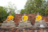 Old Buddha statue in Thailand. — Stock Photo