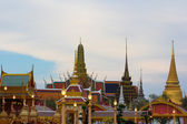 Tempel in thailand in het verleden naar het heden mooie. — Stockfoto