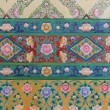 Thai pattern design on the wall - Stock Photo
