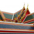 Thai temple roof — Stock Photo #10343091