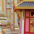 Angels in Thai temple architecture and sculpture. — Stock Photo