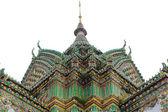 Top of Thai temple — Stock Photo