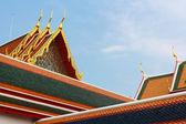 Thai temple roof — 图库照片