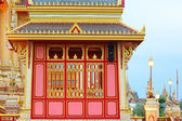 Angels in Thai temple architecture and sculpture, Bangkok. — Stock Photo