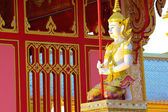Angel statue in Thai temple. — Stock Photo