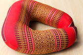 Thajské hedvábné polštáře — Stock fotografie
