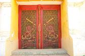 Arte porta tempio — Foto Stock