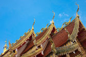 Roof temple — Stock Photo