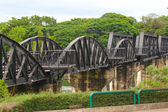 BRIDGE OVER RIVER KWAI, THAILAND — Stock Photo