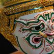 Thai giant mask — Stock Photo