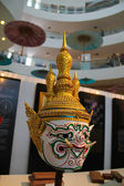 Thailand art giant mask — Stock Photo