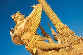 Architectural of Garuda statue — Stock Photo