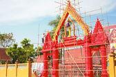 Budowa wejścia do świątyni. — Zdjęcie stockowe
