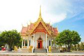 The beautiful Thai temple art. — Stock Photo