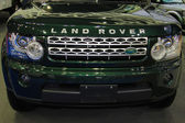 Green LAND ROVER NEW 2012 — Stock Photo
