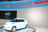 Concepts Car NISSAN NEW 2012 — Stock Photo