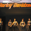 Harley-Davidson booth — Stock Photo