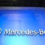 Mercedes-Benz boot 2012 — Stock Photo