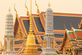 "Traditional Thai architecture ""Wat Phra Kaeo"" — Stock Photo"