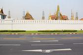 Rajdamnern Avenue Wat Phra Kaeo Bangkok 2012 — Stockfoto