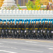 Stock Photo: Procession rehearsal : full-dress procession (Royal Field)