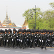 Постер, плакат: Center full dress procession The Royal Field