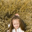 Child in a field — Stock Photo #10418531