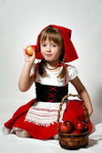 Little Red Riding Hood — Stock Photo