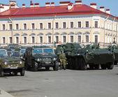 Military equipment — Stock Photo