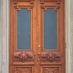 Ancient doors — Stock Photo #10716032