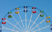 Attraction Ferris wheel — Stock Photo