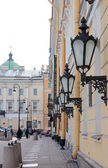 Street in the center of St. Petersburg — Stock Photo