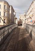 Photo pedestrian bridge — Stock Photo