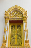 The window temple of Thailand. — Stock Photo