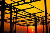 La structure du toit. — Photo