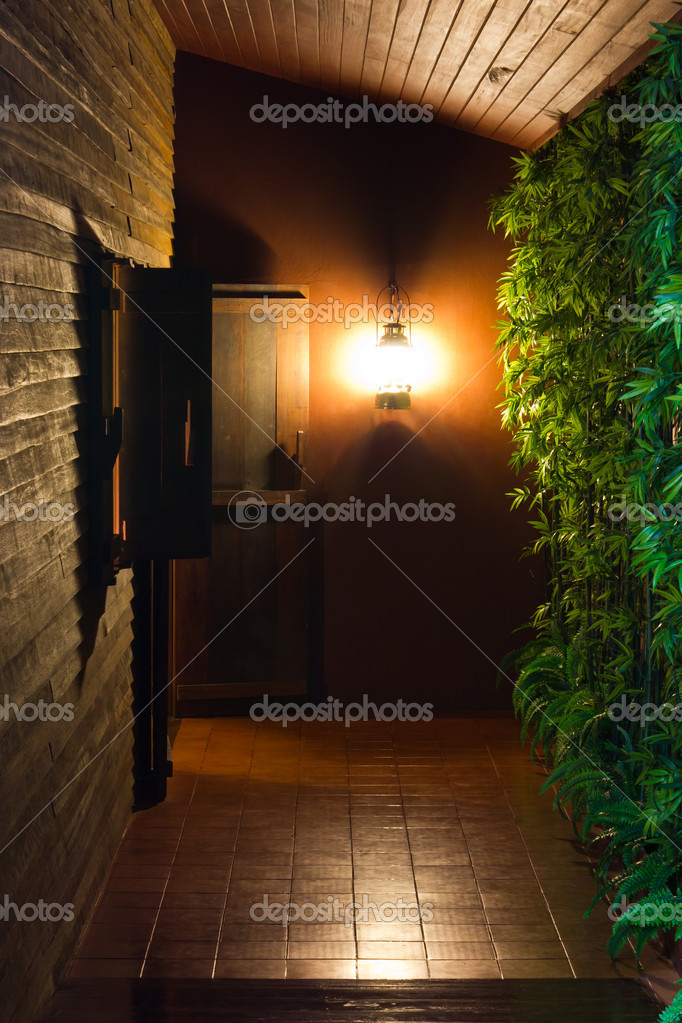 Passage in  old house of mystery.  Stock Photo #9766870