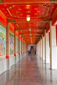 Path in the temple. — Stock Photo