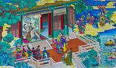 Китайская живопись. — Стоковое фото