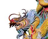 The dragon statue. — Stock Photo