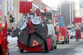 Carnival in Velika Gorica - Topics Asterix and Obelix — Stock Photo