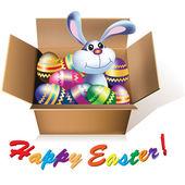 Easter Bunny - design element — Stock Vector