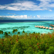 Landscape of paradise island Moorea, French Polynesia — Stock Photo