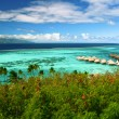 Stock Photo: Landscape of paradise island Moorea, French Polynesia