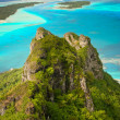 Mountain peak, Maupiti, French Polynesia — Foto de stock #10158384