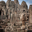 Ruins of the temples, Angkor Wat, Cambodia — Stock Photo