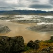 Stock Photo: View of majestic glacier Vatnajokull, Iceland