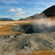 Geothermal activity, Iceland — Stock Photo